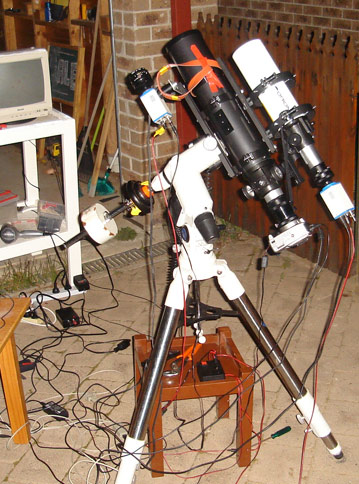 Refractor Setup August 2008