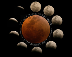 Poster of the Total Eclipse of the Moon